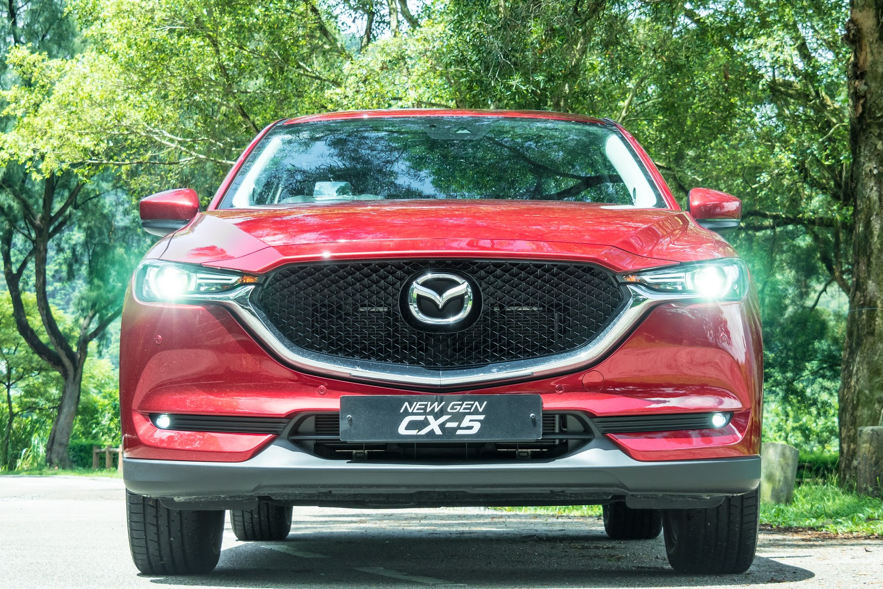 赤色 CX-5